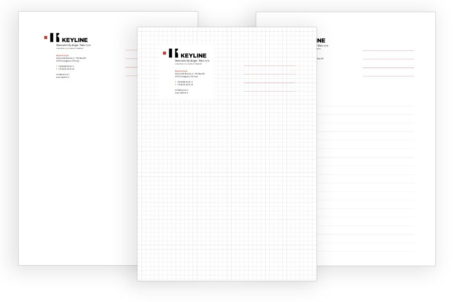 Cuaderno notas Keyline