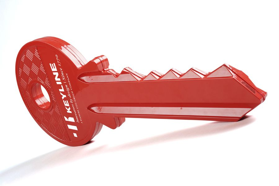 Chiave Keyline termoformata