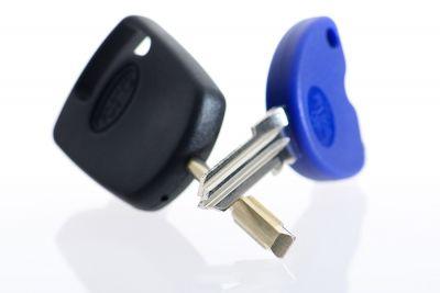 مفاتيح السيارة